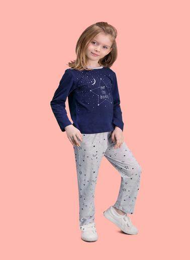 Roly Poly Rolypoly Dreaming Kız Çocuk Pijama Takımı Lacivert